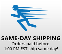 Same Day Shipping before 1:00pm