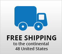 Free Shipping to the Continental US